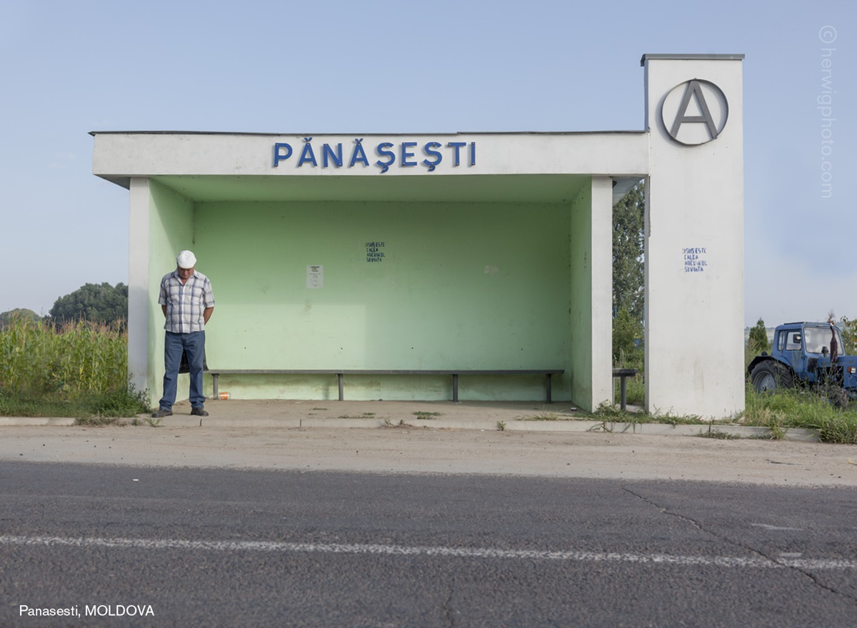 The USSR legacy: Photos of Soviet bus stops by Christopher Herwig - 17