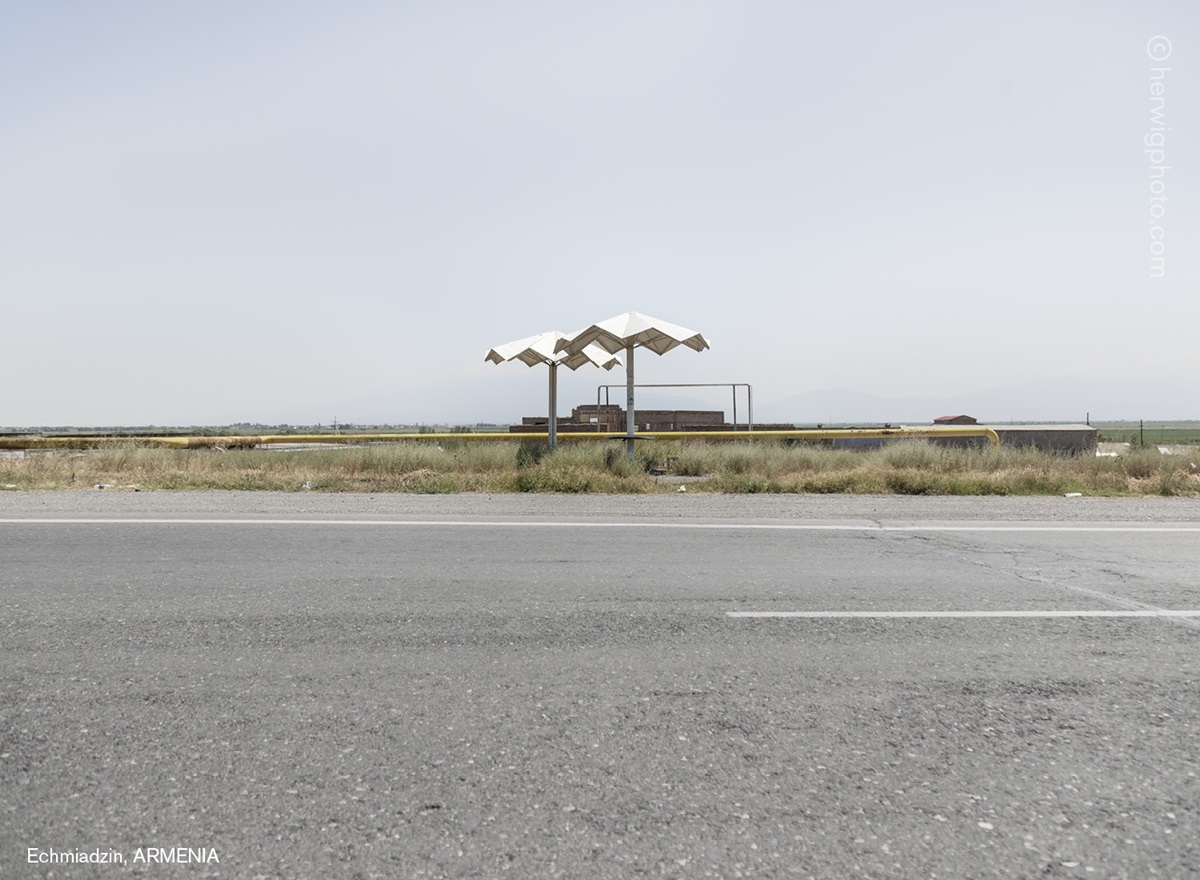 The USSR legacy: Photos of Soviet bus stops by Christopher Herwig - 20