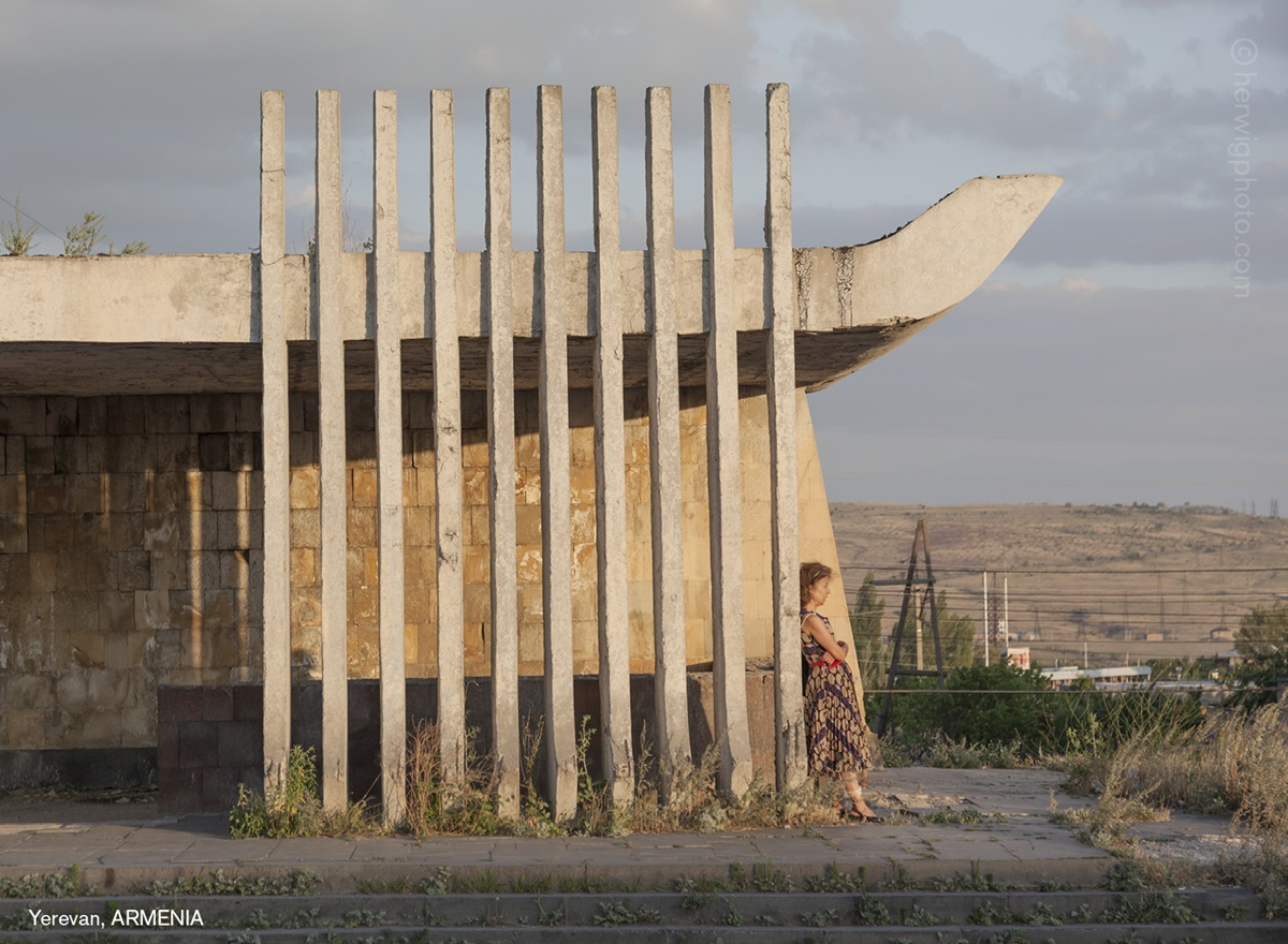 The USSR legacy: Photos of Soviet bus stops by Christopher Herwig - 23