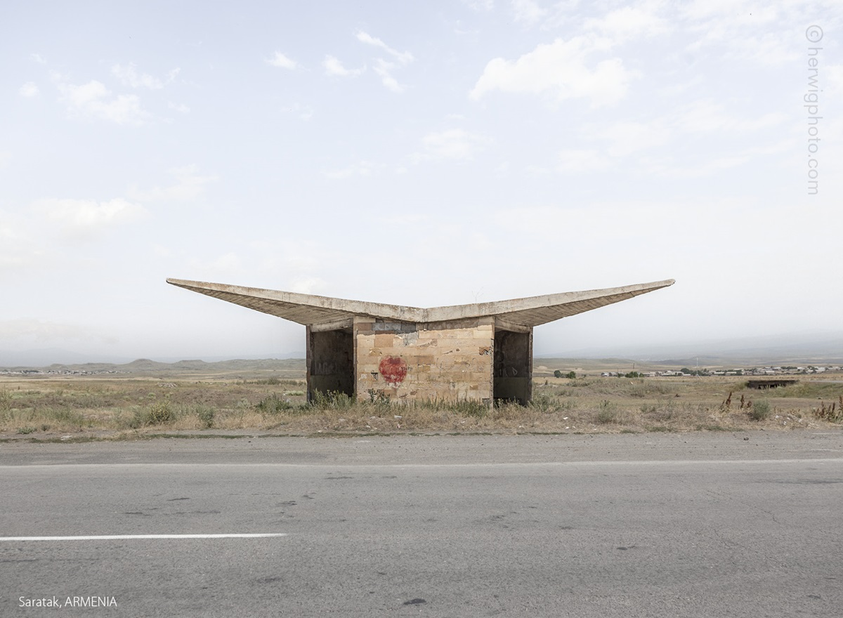 The USSR legacy: Photos of Soviet bus stops by Christopher Herwig - 26