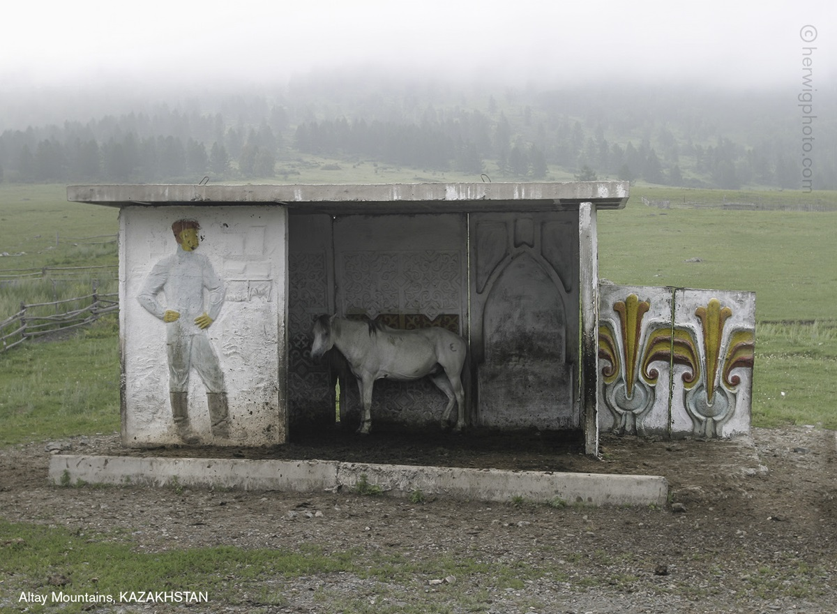 The USSR legacy: Photos of Soviet bus stops by Christopher Herwig - 03