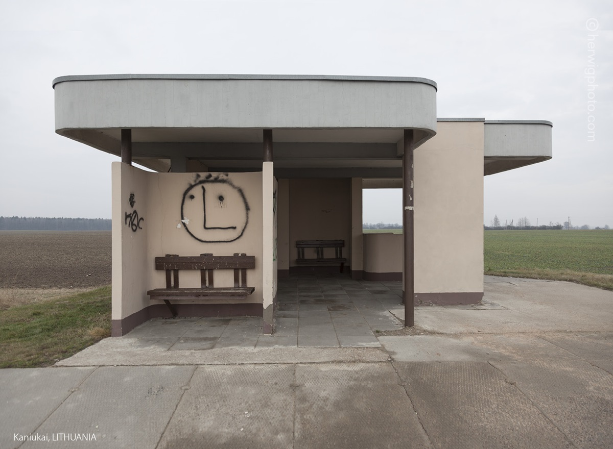 The USSR legacy: Photos of Soviet bus stops by Christopher Herwig - 32