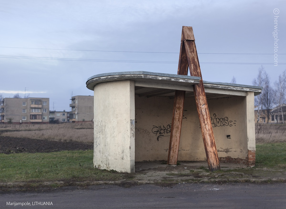 The USSR legacy: Photos of Soviet bus stops by Christopher Herwig - 33
