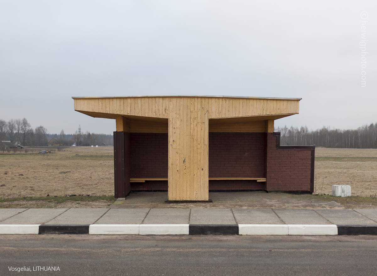 The USSR legacy: Photos of Soviet bus stops by Christopher Herwig - 34