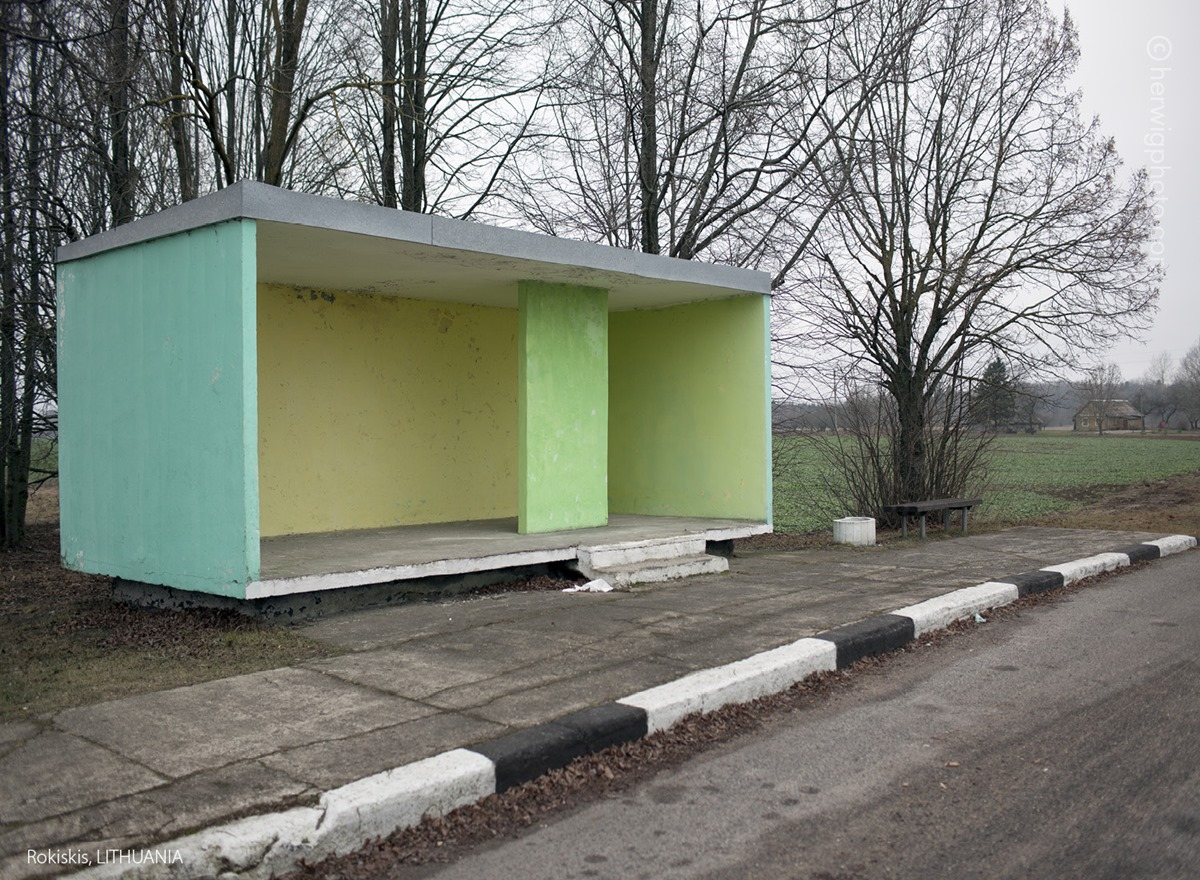 The USSR legacy: Photos of Soviet bus stops by Christopher Herwig - 36