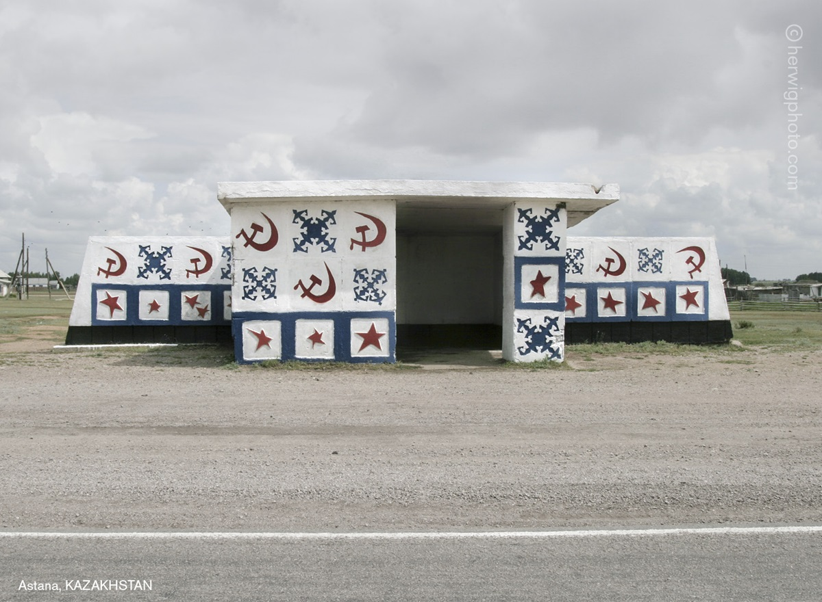 The USSR legacy: Photos of Soviet bus stops by Christopher Herwig - 04