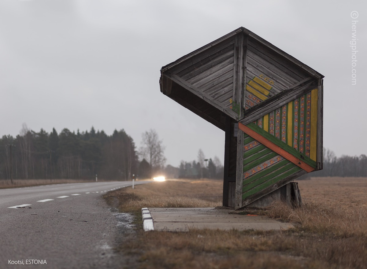The USSR legacy: Photos of Soviet bus stops by Christopher Herwig - 40