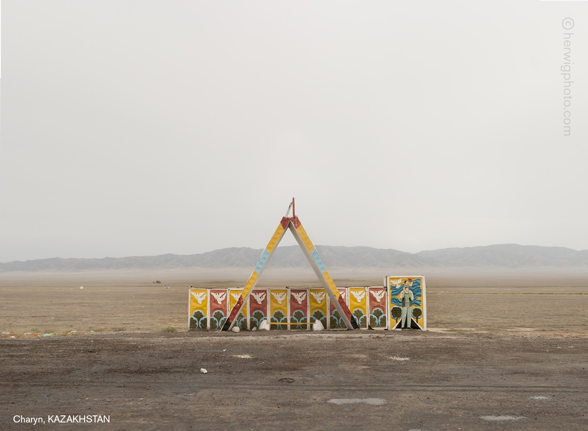 The USSR legacy: Photos of Soviet bus stops by Christopher Herwig - 05