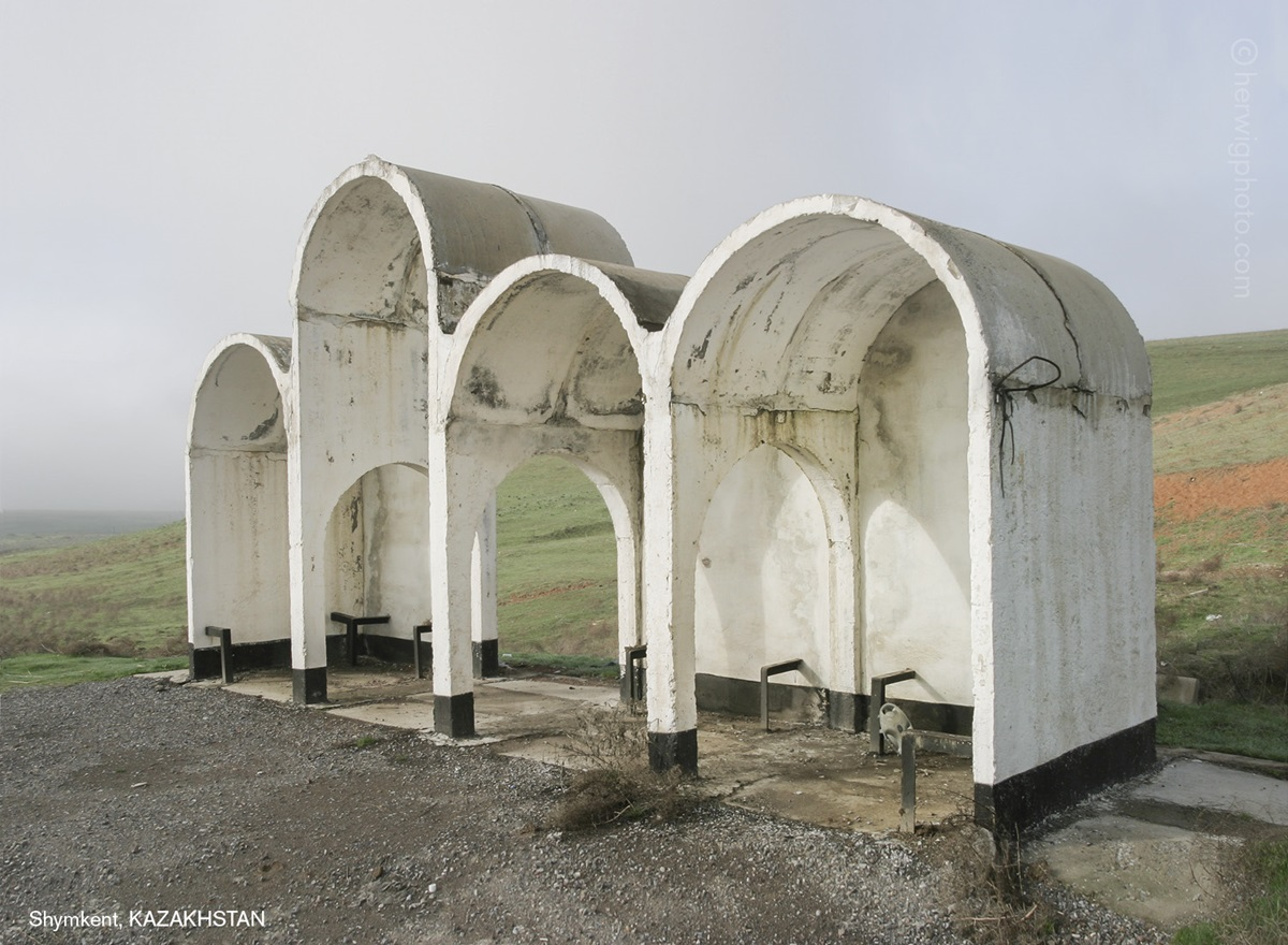 The USSR legacy: Photos of Soviet bus stops by Christopher Herwig - 07