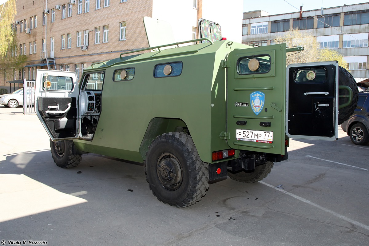 Walkaround of special Russian armored vehicle SBM VPK-233136 - 10