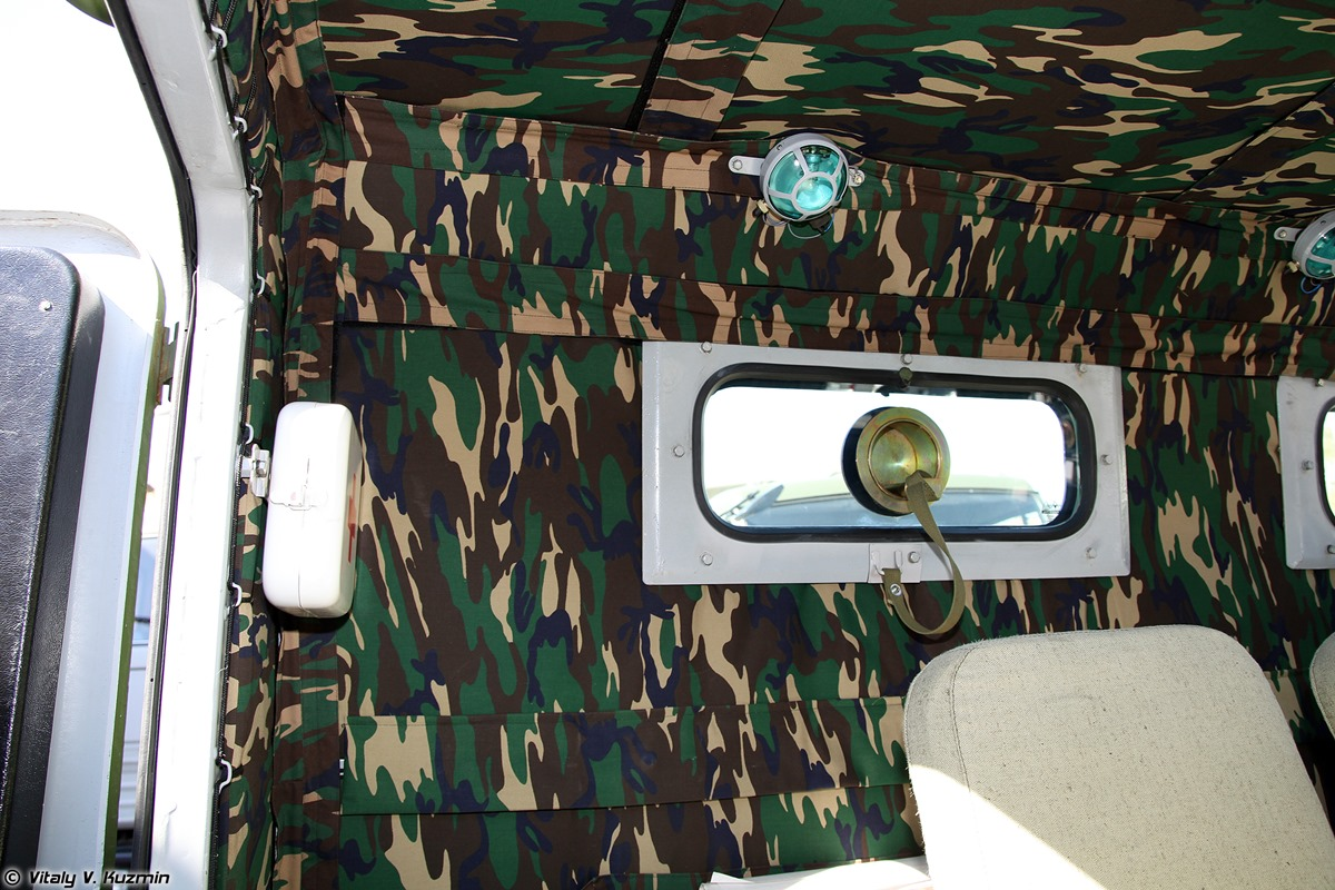 Walkaround of special Russian armored vehicle SBM VPK-233136 - 32