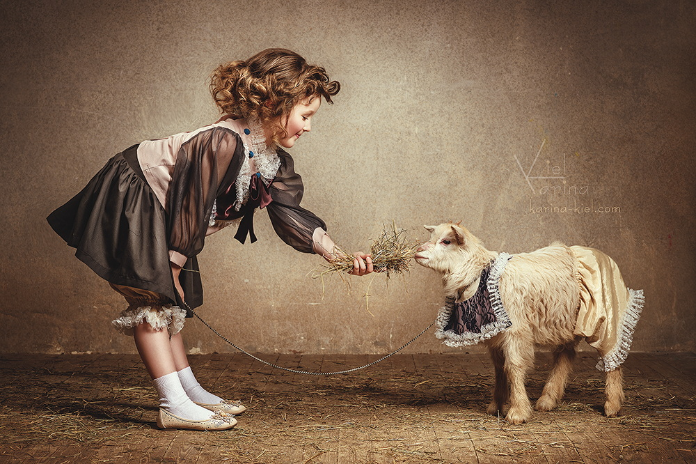 Children's wonderland: Magic photography of kids by Karina Kiel - 22