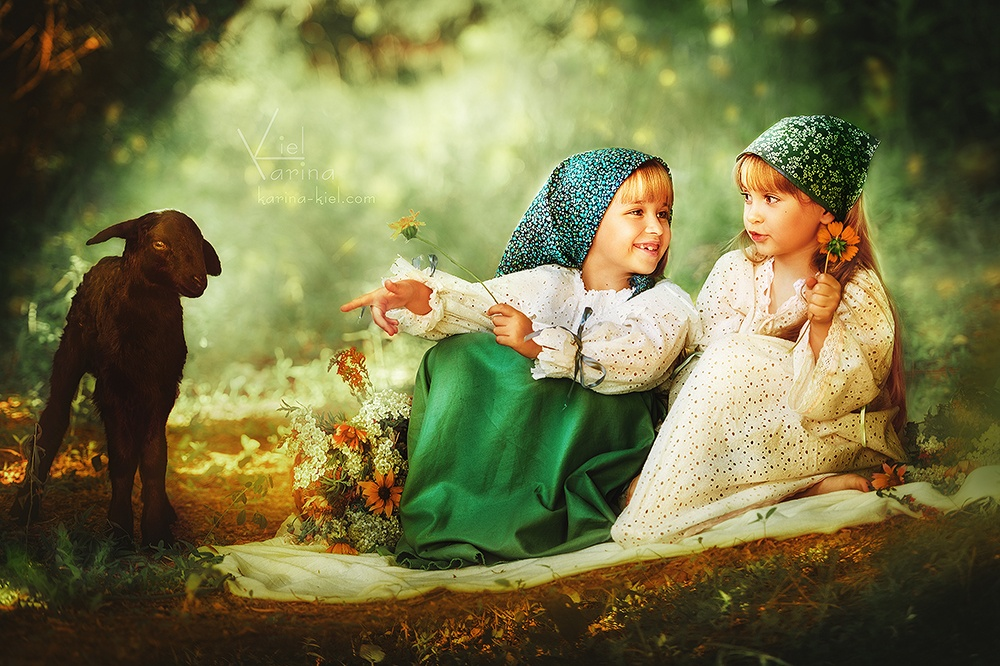 Children's wonderland: Magic photography of kids by Karina Kiel - 24