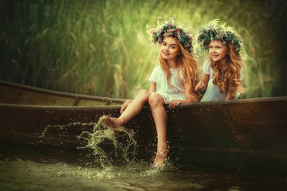 Children's wonderland: Magic photography of kids by Karina Kiel - 30