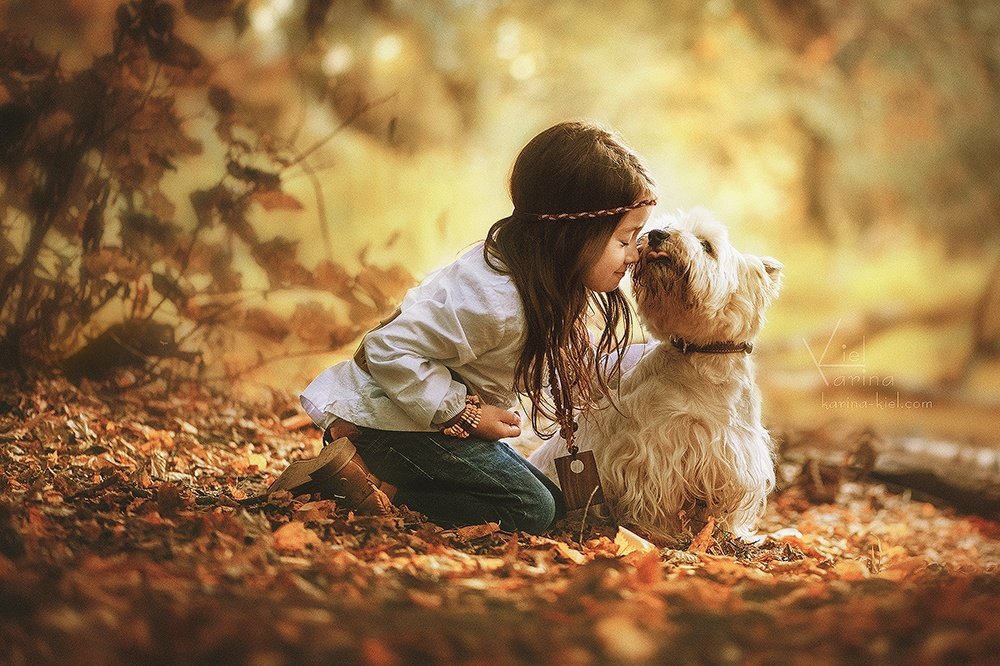 Children's wonderland: Magic photography of kids by Karina Kiel - 35