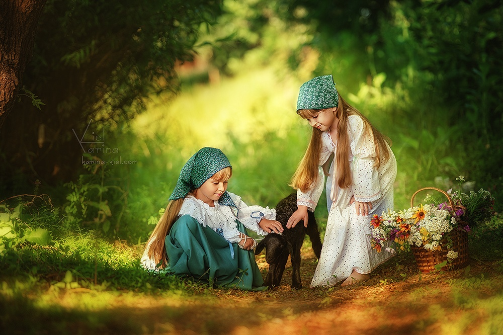 Children's wonderland: Magic photography of kids by Karina Kiel - 36