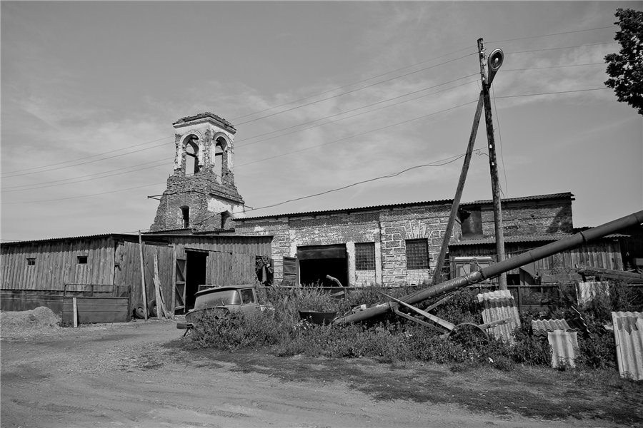 Photo project Forgotten Russia: Forlorn and dying villages - Gladskoye - 08