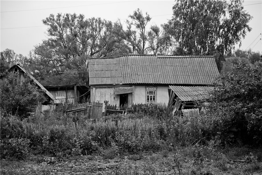 Photo project Forgotten Russia: Forlorn and dying villages - Osinki - 02