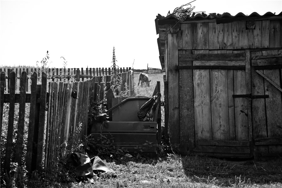 Photo project Forgotten Russia: Forlorn and dying villages - Pozhar - 25