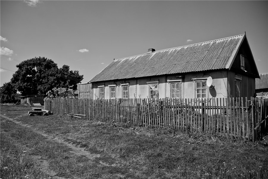 Photo project Forgotten Russia: Forlorn and dying villages - Pozhar - 09