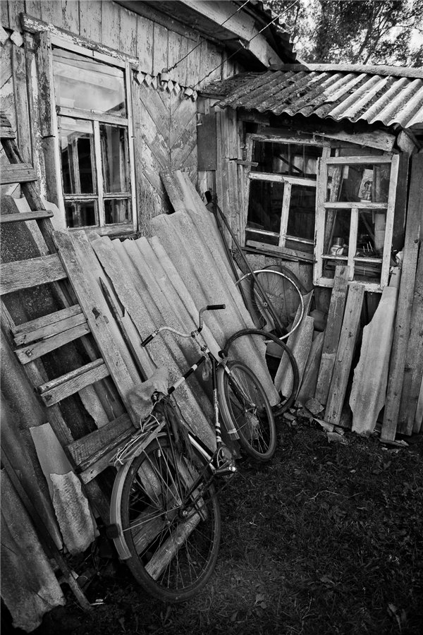 Photo project Forgotten Russia: Forlorn and dying villages - Shapkino - 11