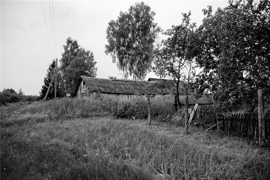 Photo project Forgotten Russia: Forlorn and dying villages - Uprusy - 10