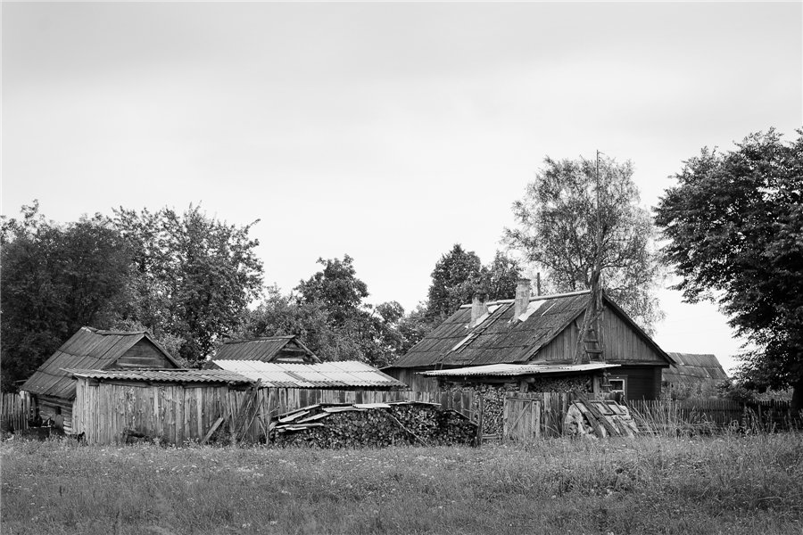 Photo project Forgotten Russia: Forlorn and dying villages - Uprusy - 12