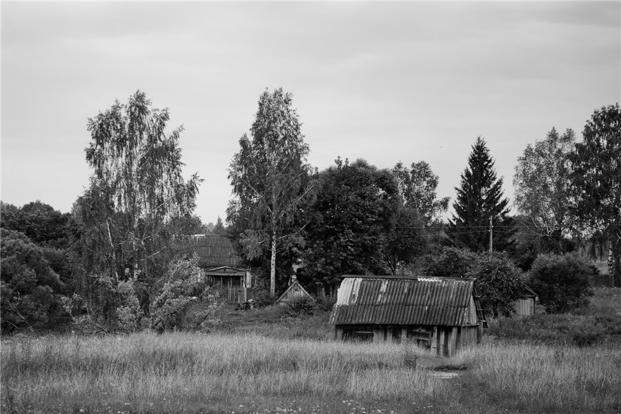 Photo project Forgotten Russia: Forlorn and dying villages - Uprusy - 02