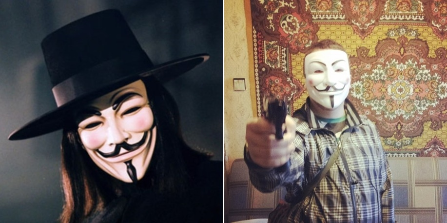 Guy Fawkes after living in Russia
