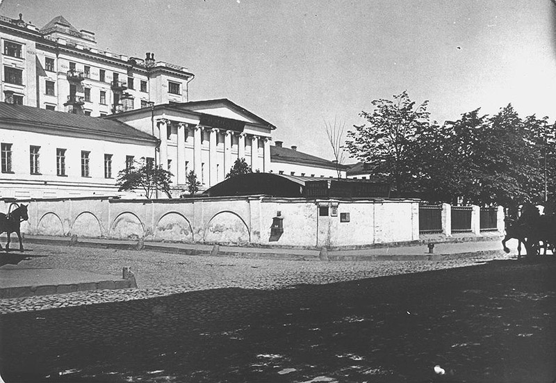 Old Moscow: The main house of the Buturliny family estate