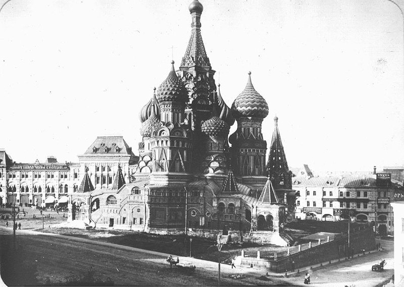 Old Moscow: St. Basil's Cathedral