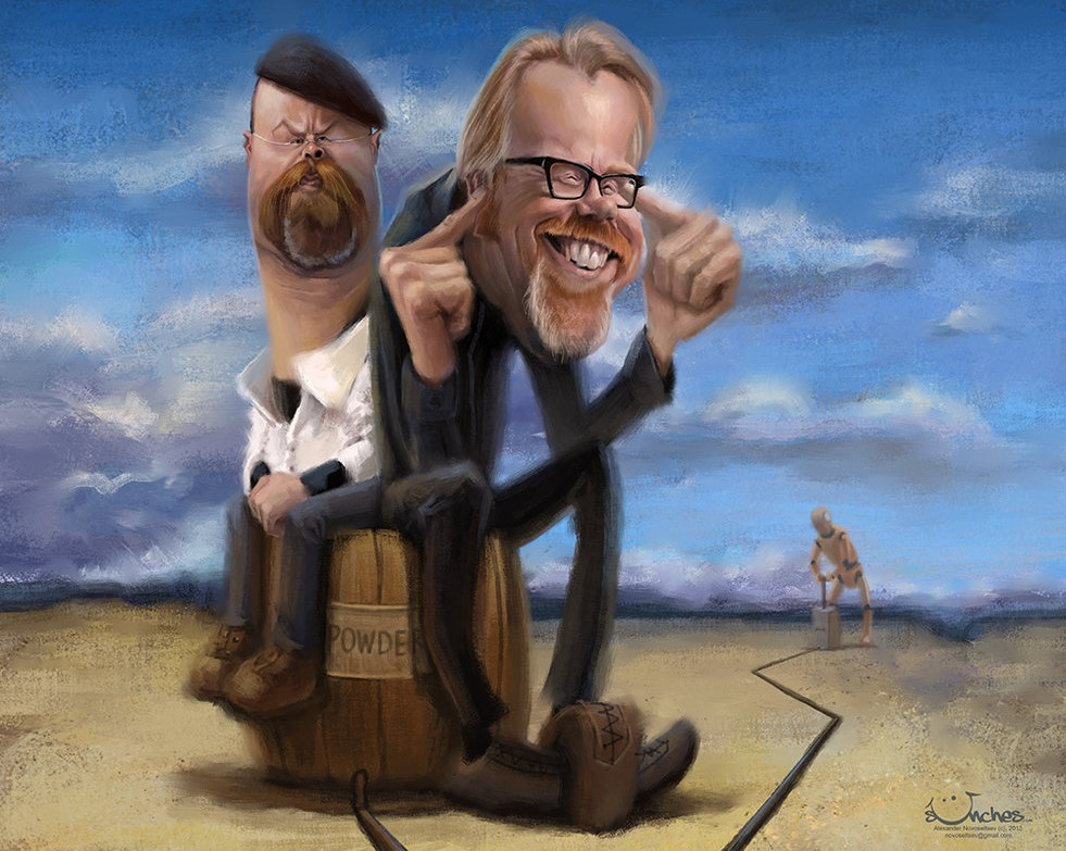 Adam Savage and Jamie Hyneman
