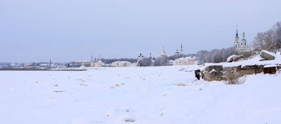Veliky Ustyug: A northern city with old beautiful monasteries - 03