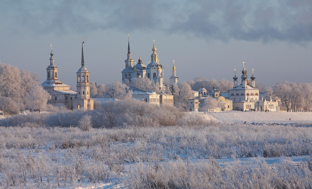 Veliky Ustyug: A northern city with old beautiful monasteries - 04