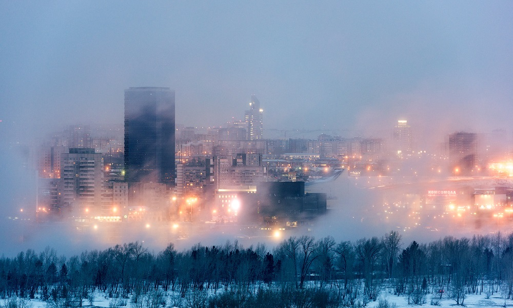 Nice winter photos of Krasnoyarsk - 08