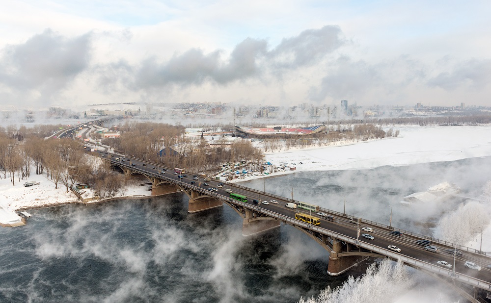 Nice winter photos of Krasnoyarsk - 09