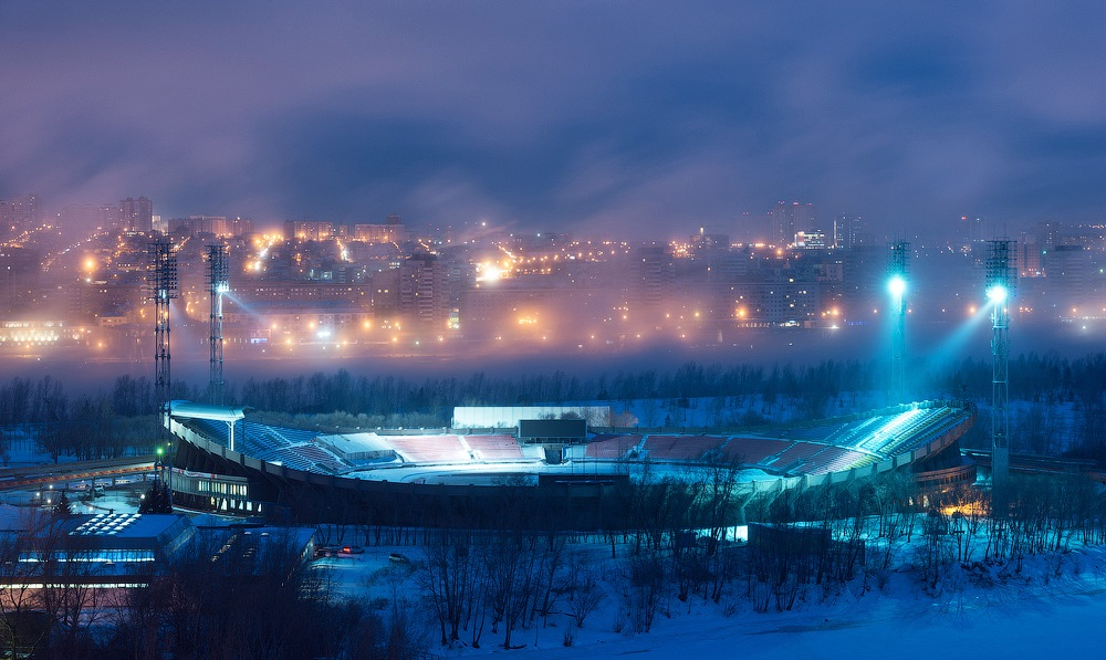 Nice winter photos of Krasnoyarsk - 11