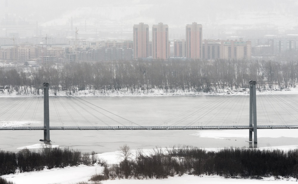 Nice winter photos of Krasnoyarsk - 16