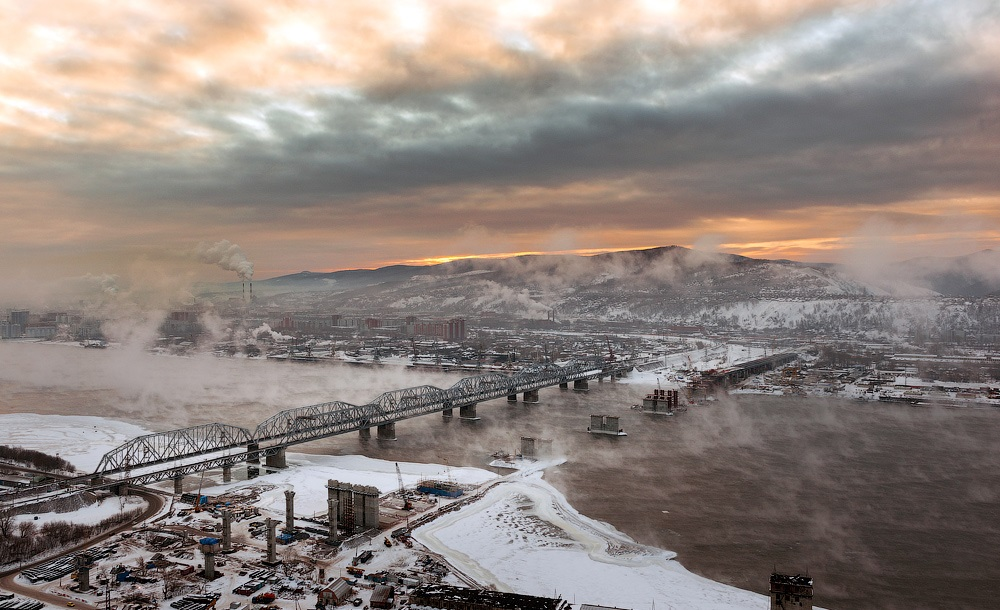 Nice winter photos of Krasnoyarsk - 23