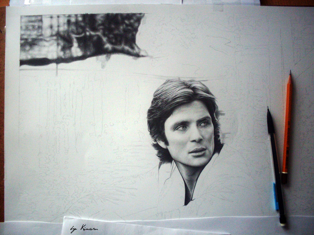 Cillian Murphy in process