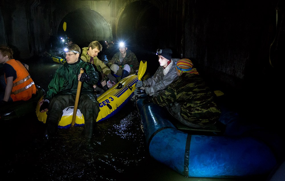 Russian rafting style: How guys have fun under the ground - 14