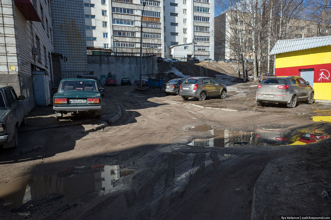 Bad bad city of Syktyvkar: Another dirty northern place in Russia - 09
