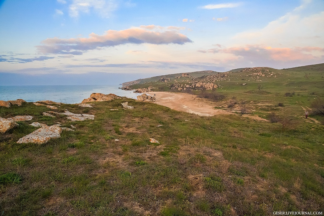 Generals beaches: Wonderful wild beaches and bays of Crimea - 17