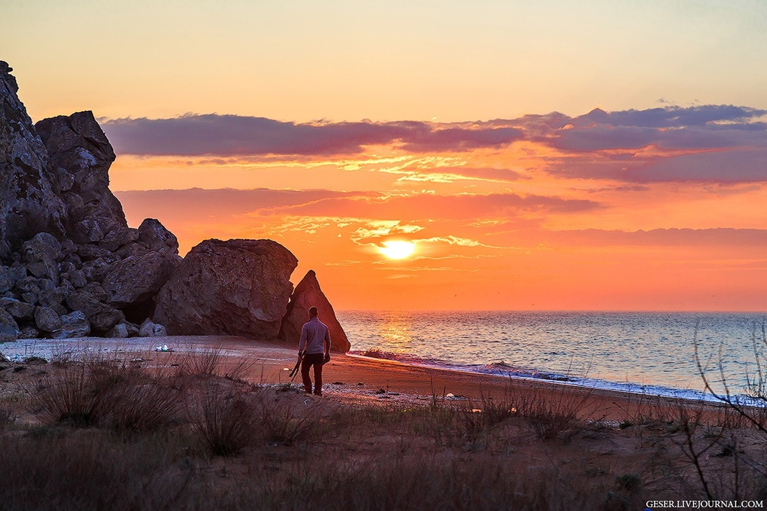 Generals beaches: Wonderful wild beaches and bays of Crimea - 21