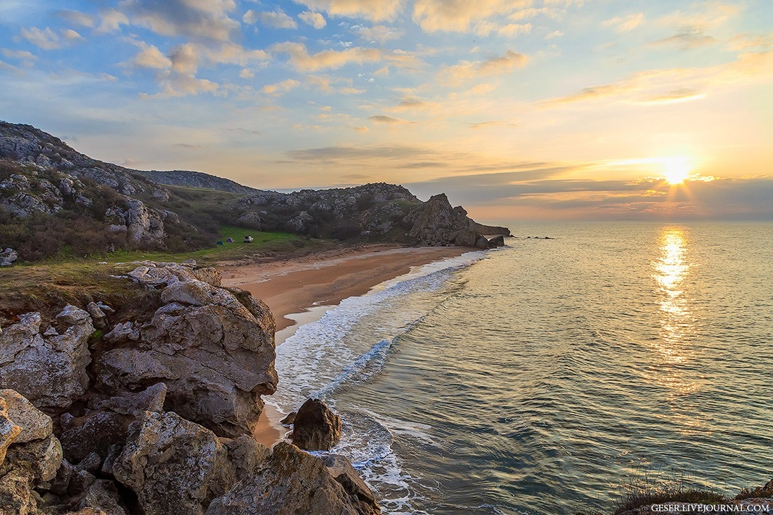 Generals beaches: Wonderful wild beaches and bays of Crimea - 03