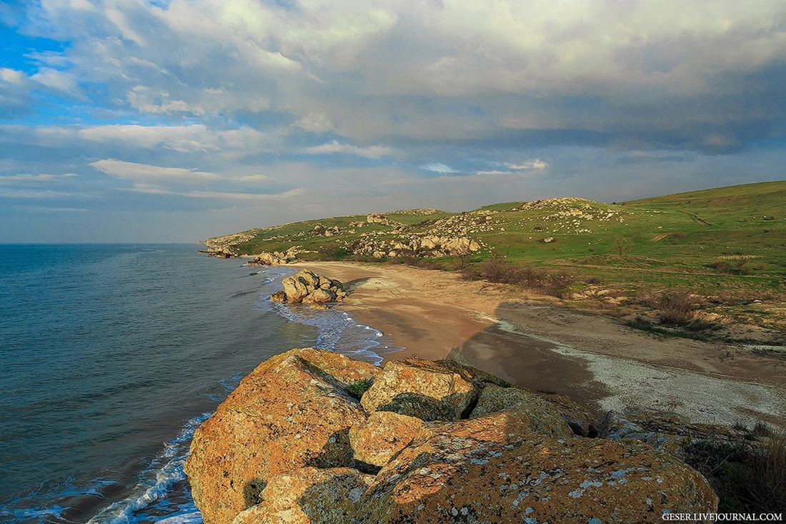 Generals beaches: Wonderful wild beaches and bays of Crimea - 09