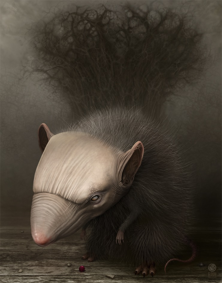 Gloom: Scary paintings by a Russian artist Anton Semenov - 13