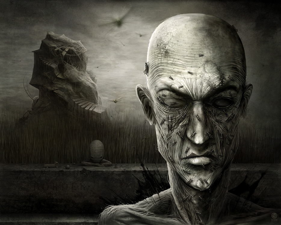 Gloom: Scary paintings by a Russian artist Anton Semenov - 22