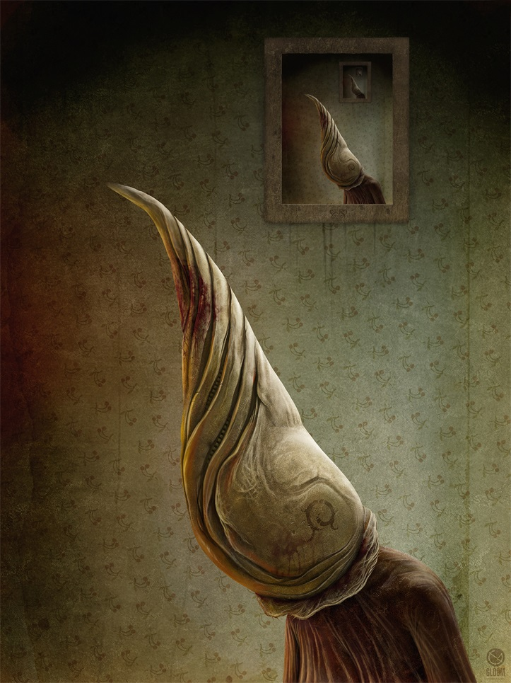 Gloom: Scary paintings by a Russian artist Anton Semenov - 23