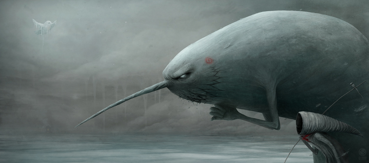 Gloom: Scary paintings by a Russian artist Anton Semenov - 28